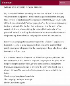 Update on the Lambeth Conference – Thinking Anglicans